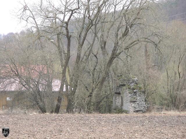 Burg Bacheburg, Eisenbach, Römerbau