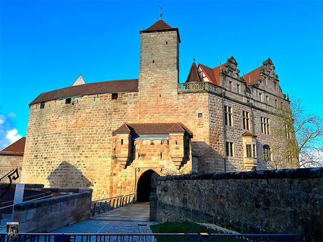 Burg Cadolzburg in Bayern