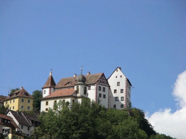 Burg Egloffstein in Bayern