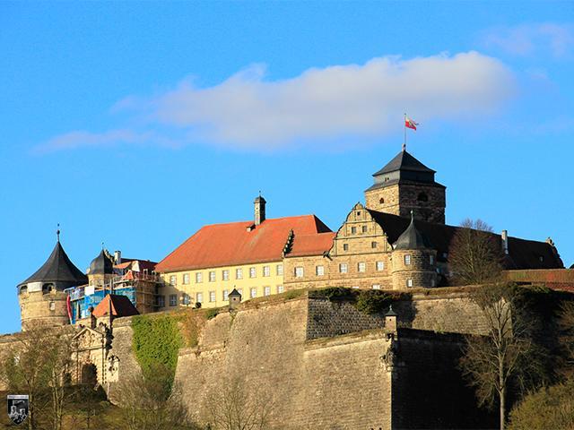 Festung Rosenberg, Kronach in Bayern