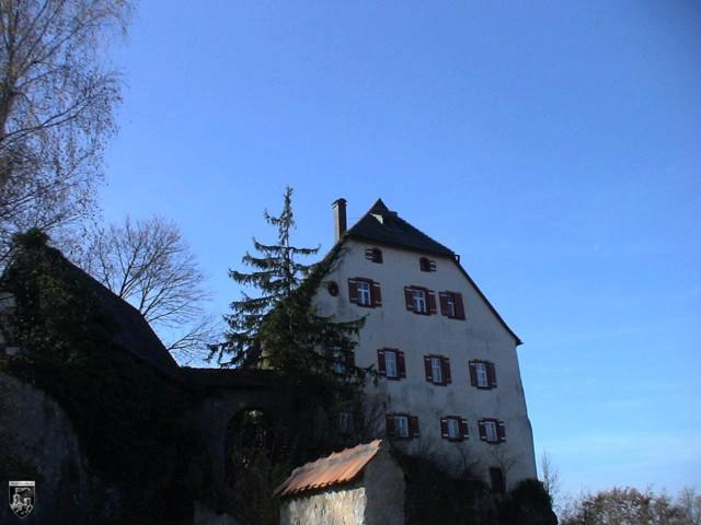 Burg Hartenstein in Bayern