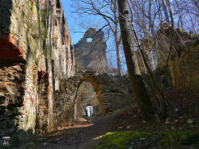 Burg Hochhaus in Bayern
