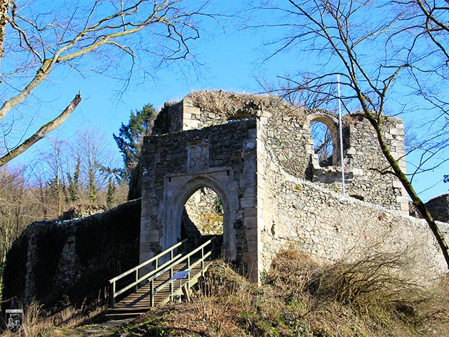 Burg Hohenberneck in Bayern
