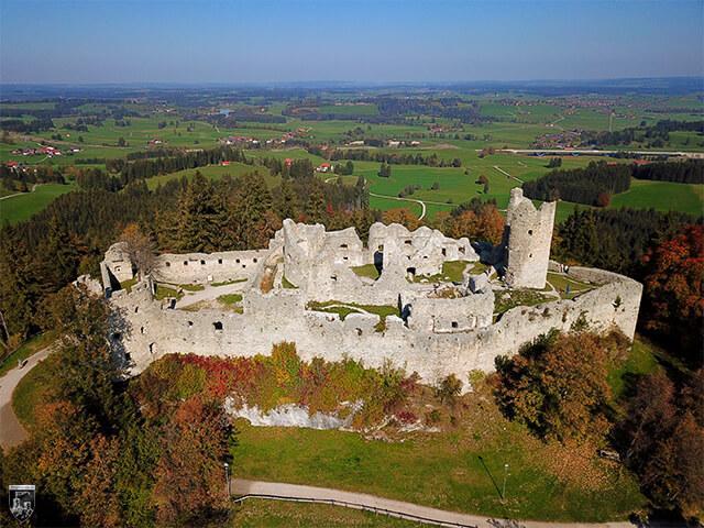 Burg Hohenfreyberg in Bayern