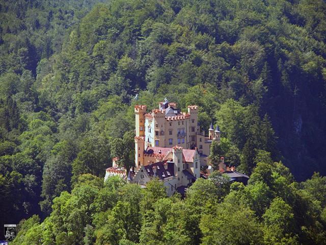 Schloss Hohenschwangau in Bayern