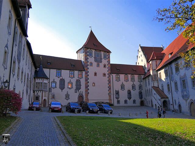 Hohes Schloss Füssen, Burg Füssen in Bayern