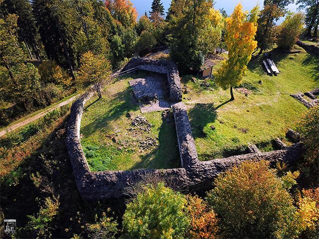 Burg Hopfen am See in Bayern