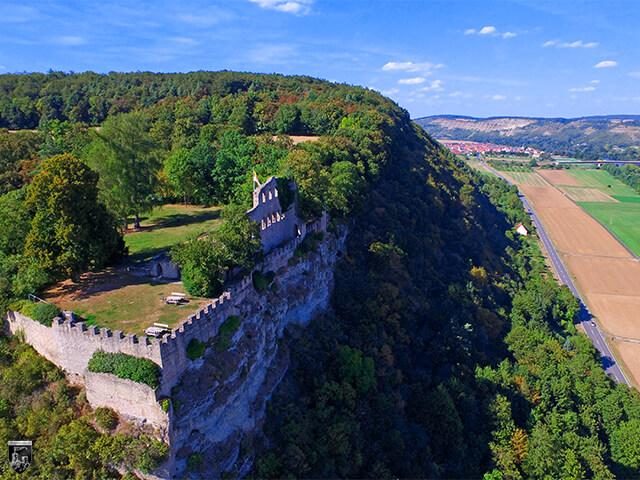 Burg Karlsburg in Bayern