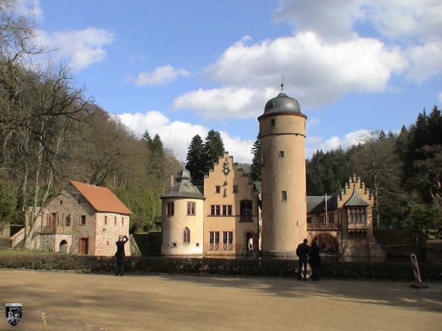 Schloss Mespelbrunn in Bayern