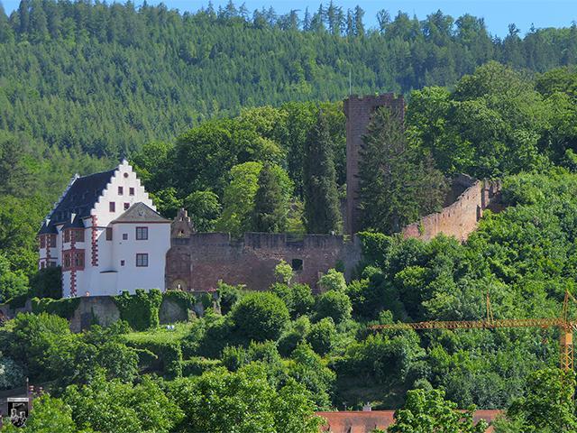 Burg Miltenberg, Mildenburg in Bayern