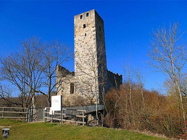 Burg Niederhaus in Bayern