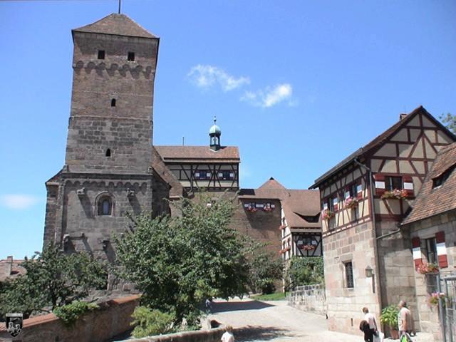 Burg Nürnberg in Bayern