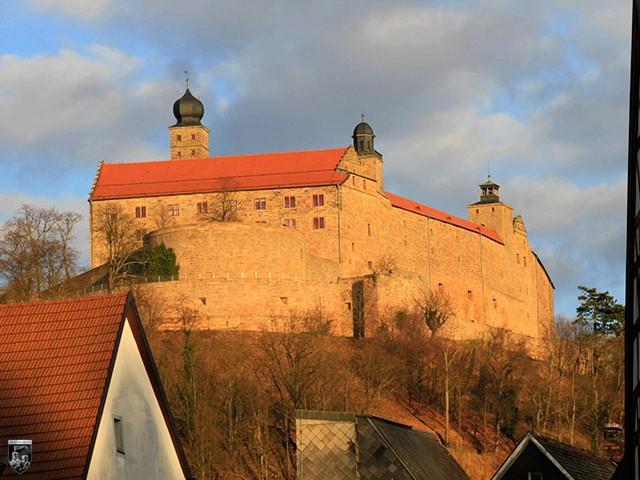Burg und Festung Plassenburg in Bayern