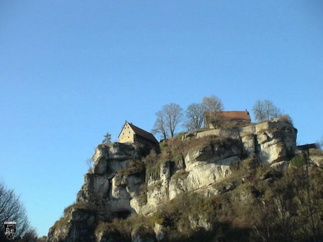 Burg Pottenstein in Bayern