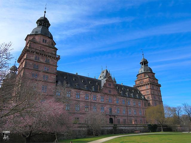 Schloss Johannisburg, Aschaffenburg in Bayern
