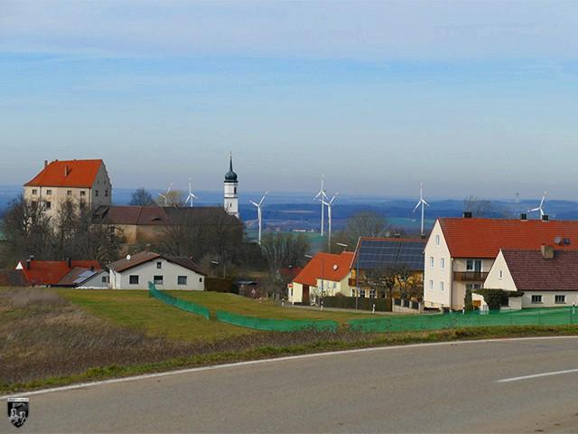 Schloss Spielberg in Bayern