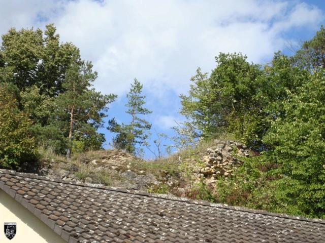 Burg Steinamwasser, Strebenstein