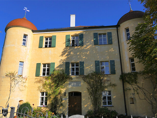 Unteres Schloss Grönenbach in Bayern