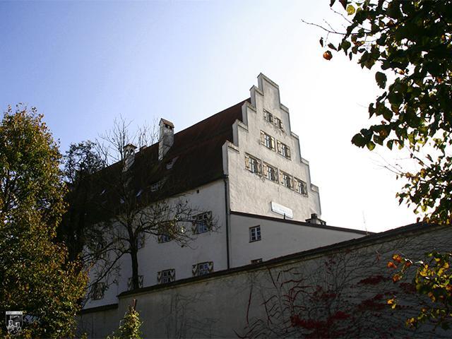 Burg Wasserburg - Das Herzogliche Schloss Wasserburg in der Kernburg.