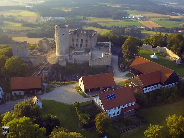 Burg Wolfstein in Bayern