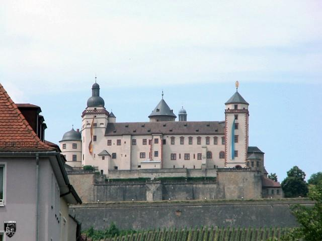 Burg und Festung Marienberg, Marienburg, Würzburg in Bayern