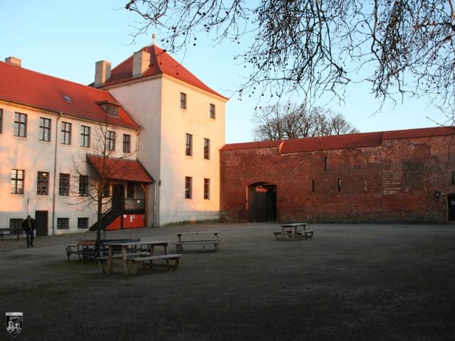 Burg Friedland in Brandenburg