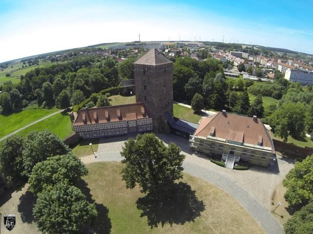 Burg Wittstock, Bischofsburg in Brandenburg