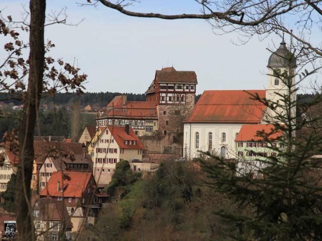 Schloss Altensteig in Baden-Württemberg