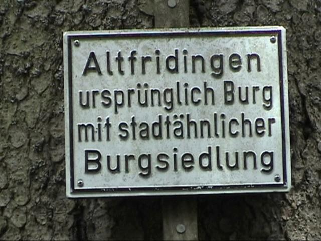 Burg Alt-Fridingen