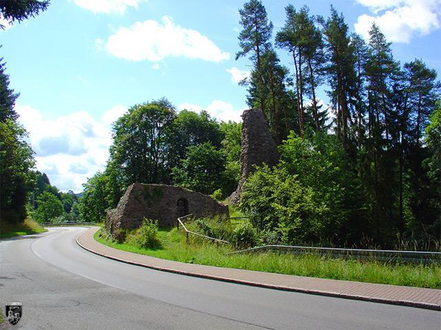 Burg Alt-Urach in Baden-Württemberg