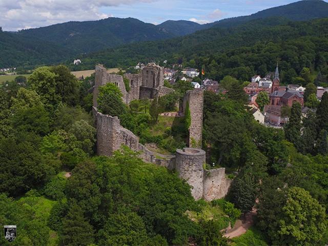 Burg Badenweiler in Baden-Württemberg
