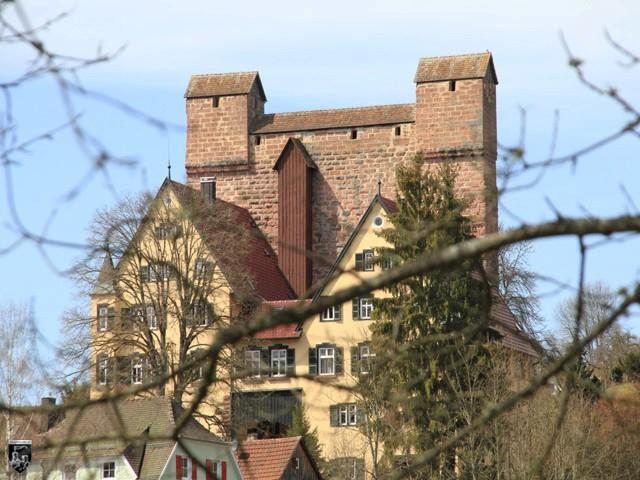 Burg Berneck, Bernegg in Baden-Württemberg