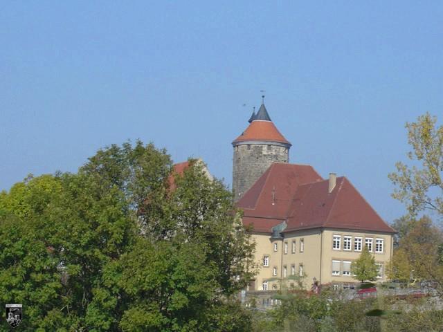 Burg Besigheim Oberburg, Schochenturm in Baden-Württemberg