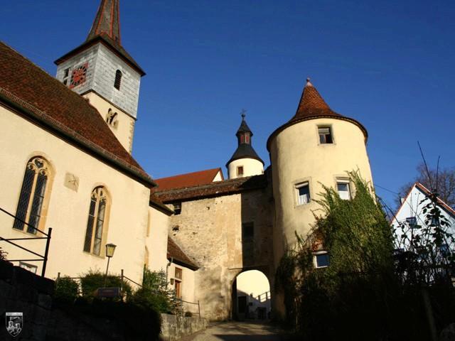 Burg Braunsbach in Baden-Württemberg