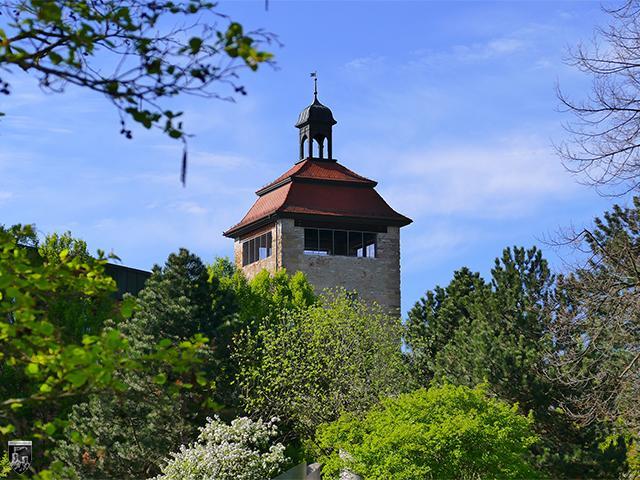 Bischöfliche Burg Bruchsal in Baden-Württemberg