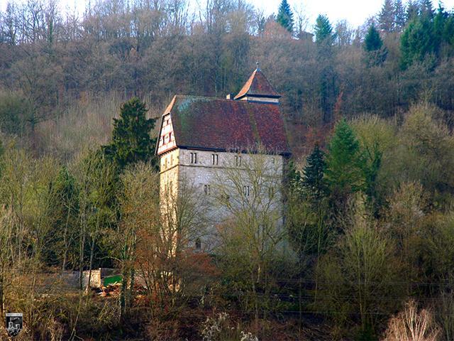 Burg Buchenbach, Steinhaus in Baden-Württemberg