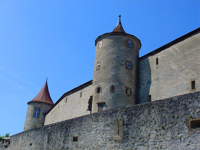 Burg Comburg, Großcomburg in Baden-Württemberg