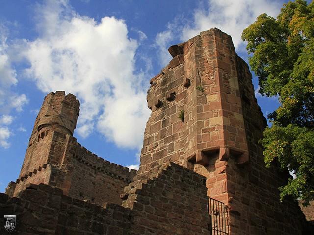 Burg Dilsberg in Baden-Württemberg