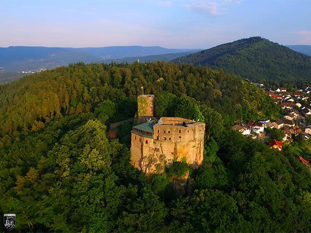 Burg Ebersteinburg, Alt Eberstein in Baden-Württemberg