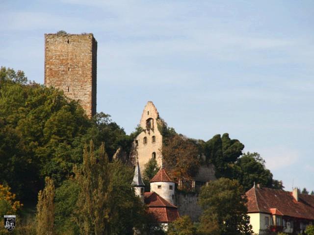 Burg Ehrenburg, Ehrenberg
