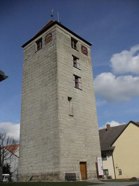 Burg Emerkingen, Römerturm