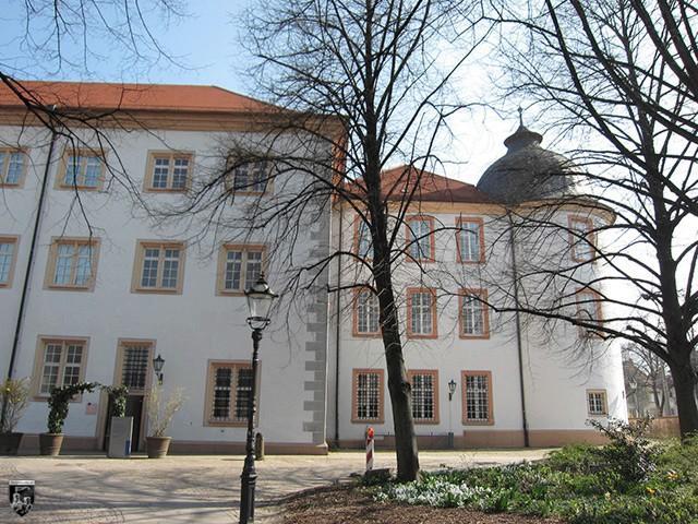 Schloss Ettlingen in Baden-Württemberg