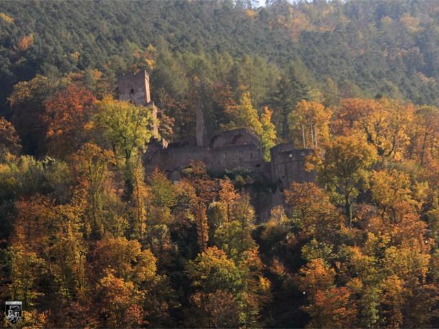 Burg Freudenberg in Baden-Württemberg