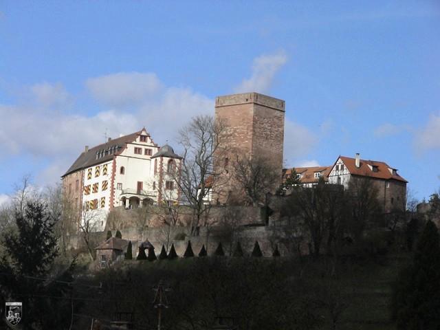 Burg Gamburg in Baden-Württemberg