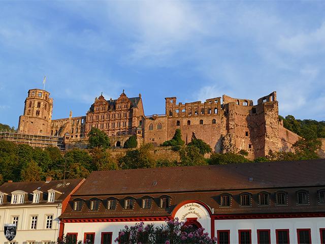 Schloss Heidelberg, Heidelberger Schloss in Baden-Württemberg