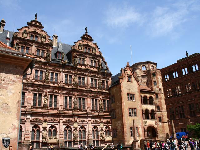 Burg Heidelberg, Heidelberger Schloss