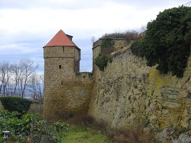 Burg und Festung Hohenasperg in Baden-Württemberg