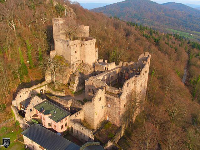 Burg Hohenbaden, Altes Schloss in Baden-Württemberg