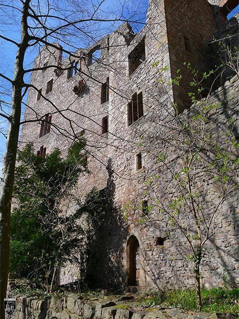 Burg Hohenbaden, Altes Schloss