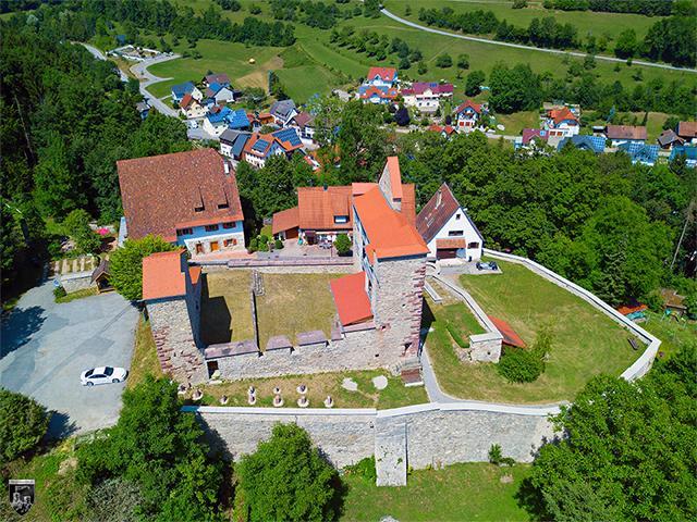 Burg Hohendießen in Baden-Württemberg